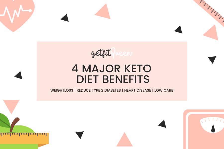 4 Major Keto Diet Benefits