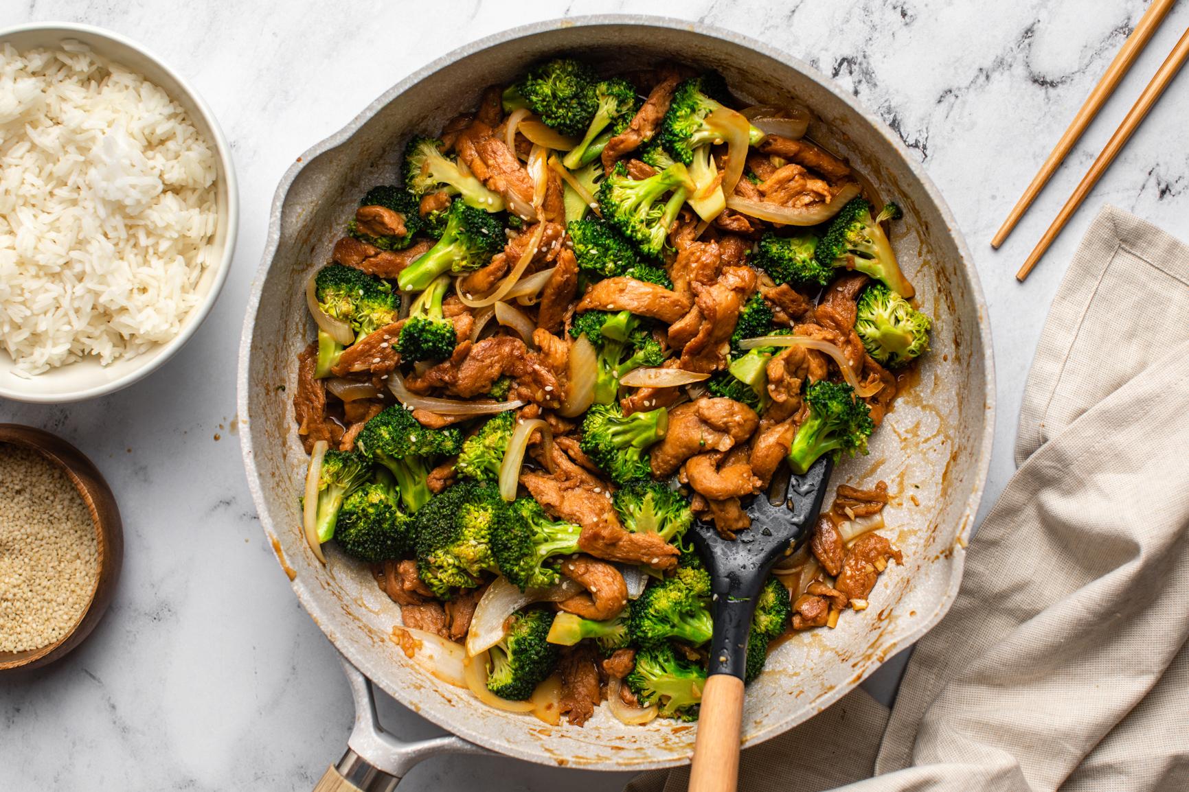 Keto Beef and Broccoli Getfitqueen.com