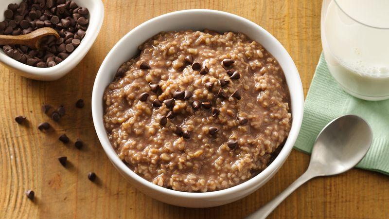 Keto Chocolate Oatmeal Getfitqueen.com
