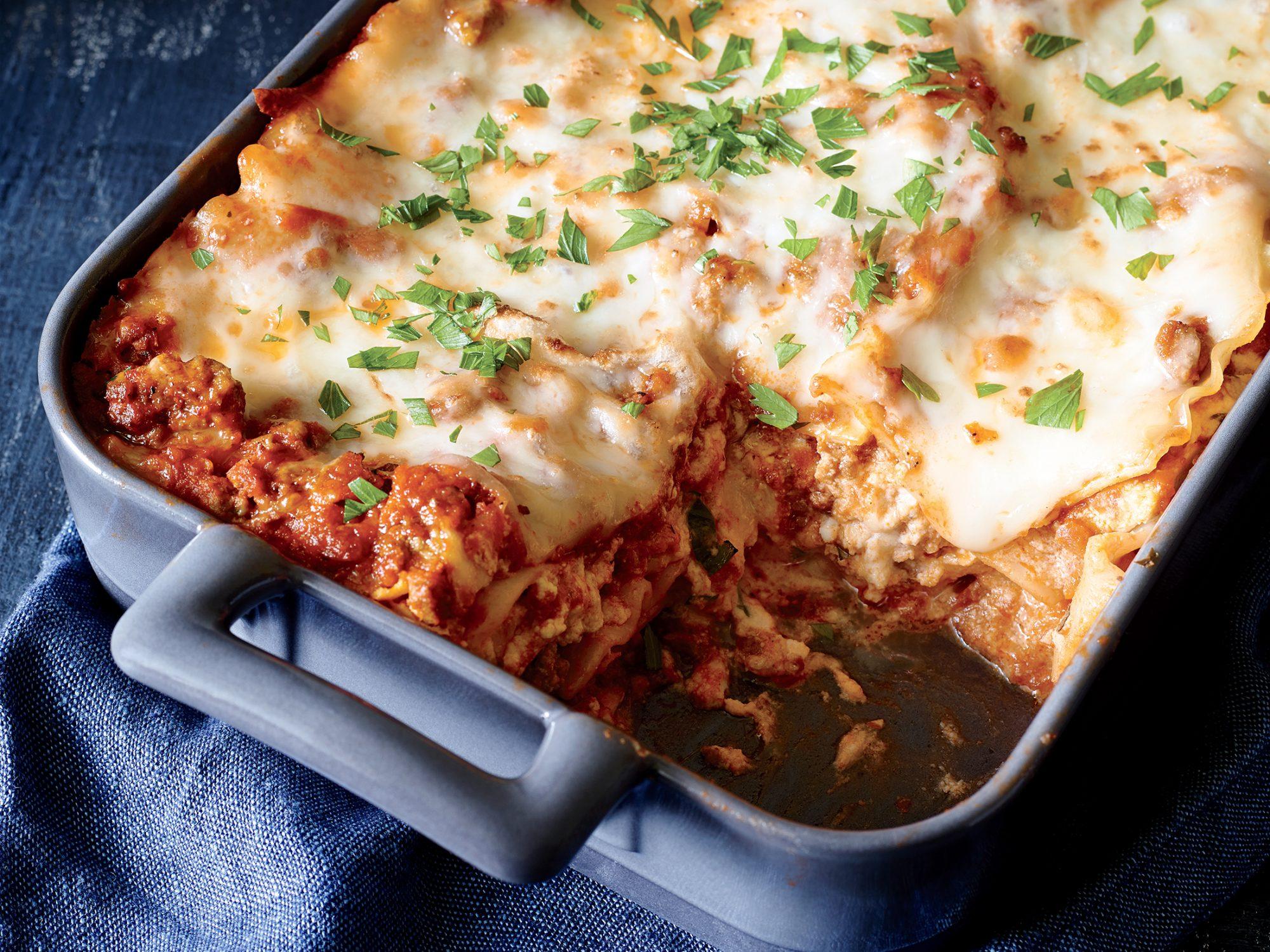 Keto Lasagna Getfitqueen.com