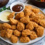 Keto Baked chicken nuggets getfitwueen.com