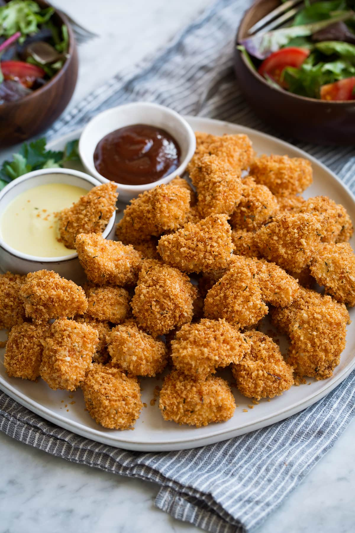 Keto Baked Chicken Nuggets